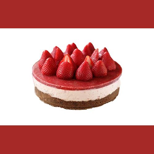 Frenzi Frozen Yogurt_Frozen Yogurt and Toppings Combo_Strawberry Cheesecake