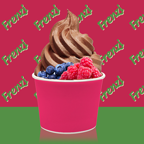Frenzi Frozen Yogurt_Chocolate_raspberry_blueberry