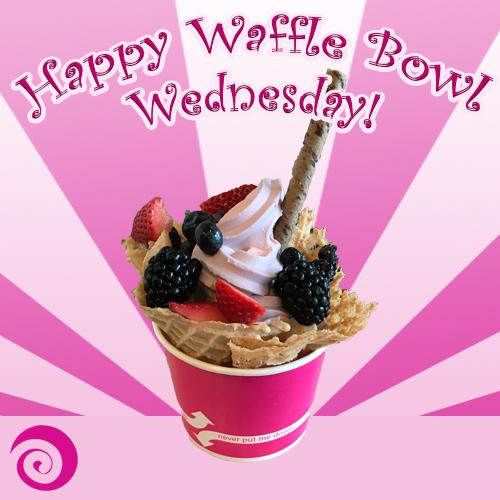 Frenzi_Frozen_Yogurt_Waffle_Bowl_Wednesday