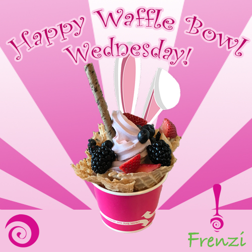 Frenzi_Frozen_Yogurt_Waffle_Bowl_Wednesday_Easter