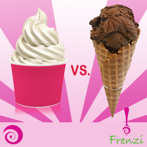 Frenzi Frozen Yogurt_Cup Vs Cone - The Battle Of The Ages