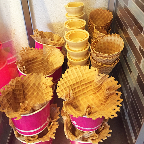 Frenzi Frozen Yogurt_Waffle Wednesday