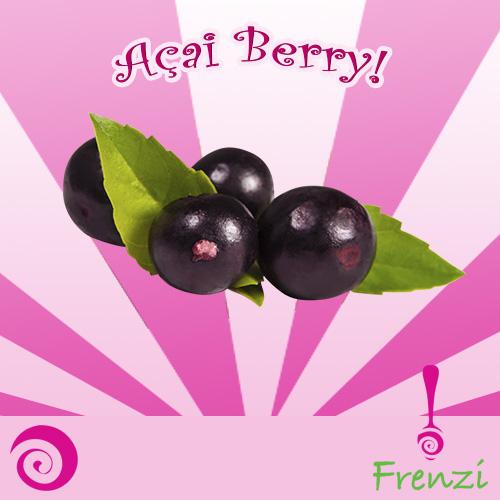 Frenzi Frozen Yogurt_Flavor of the Week - What Does the Açai Berry FroYo Taste Like