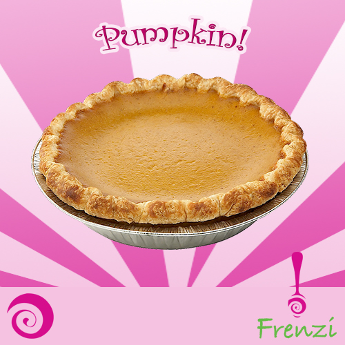 Frenzi Frozen Yogurt_Froyo Flavor of the Week Pumpkin