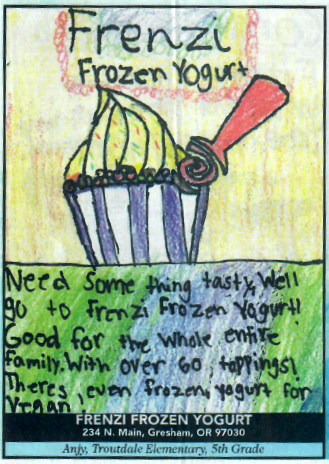 Frenzi Frozen Yogurt_Kids and Christmas