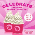 Our Favorite Holiday Has Finally Arrived! Happy National FroYo Day!
